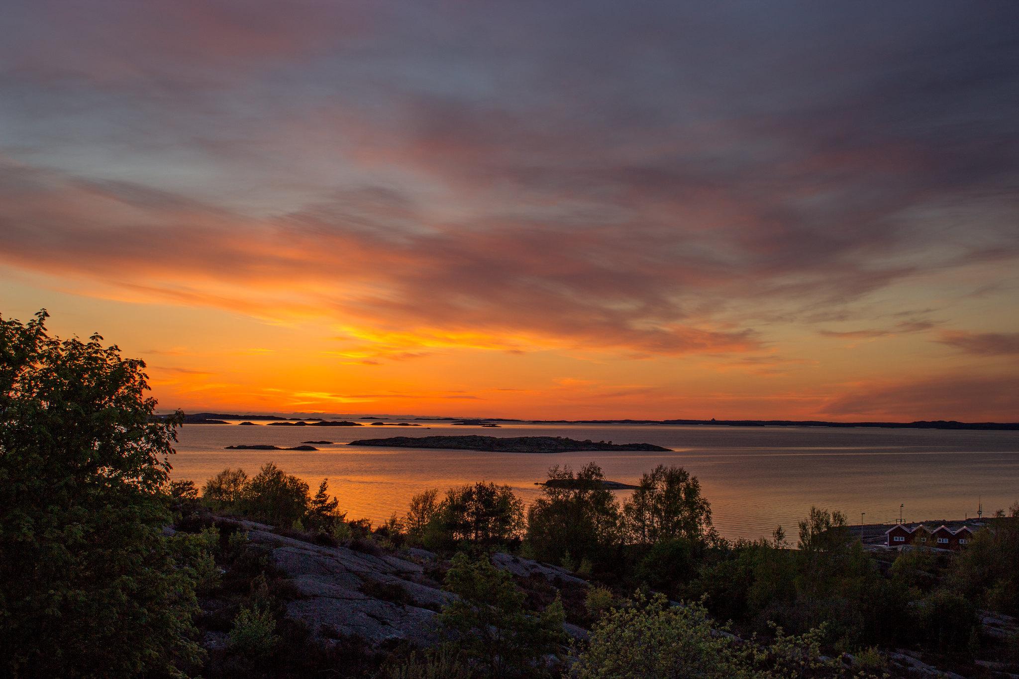 Solnedgång vid Lilleby 2