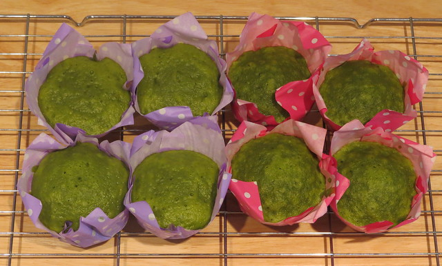 Cooking: Matcha Mushi Pan (抹茶蒸しパン)