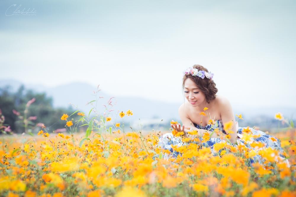 台灣台北自助婚紗自然風格女攝影師婚紗寫真外拍