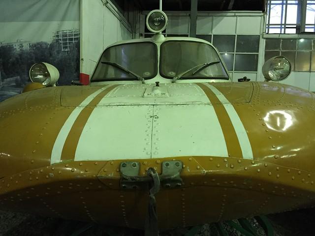 Аэросани-амфибия СКБ А.Н.Туполева А-3, 1961-1995