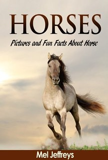 Horses: Pictures and Fun Facts about Horse Colors by Mel Jeffreys