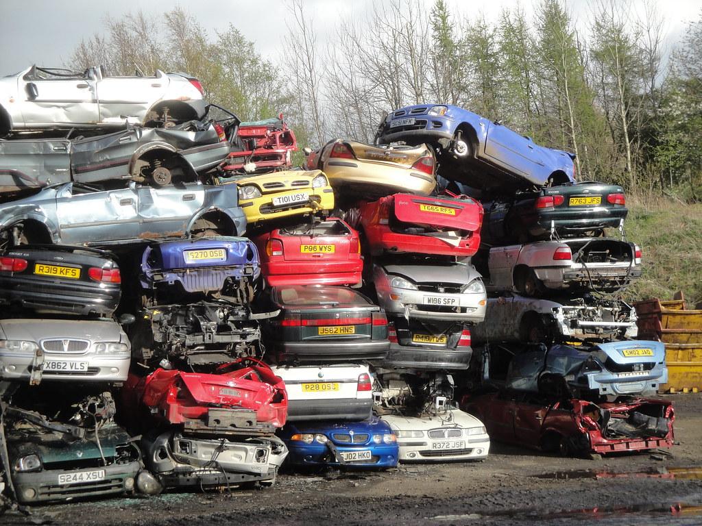 Car Scrap Yard To Get Nd Parts