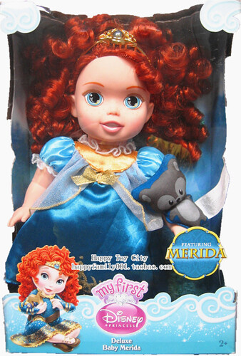 My First Deluxe Baby Merida Doll Explore Lucile 7 S