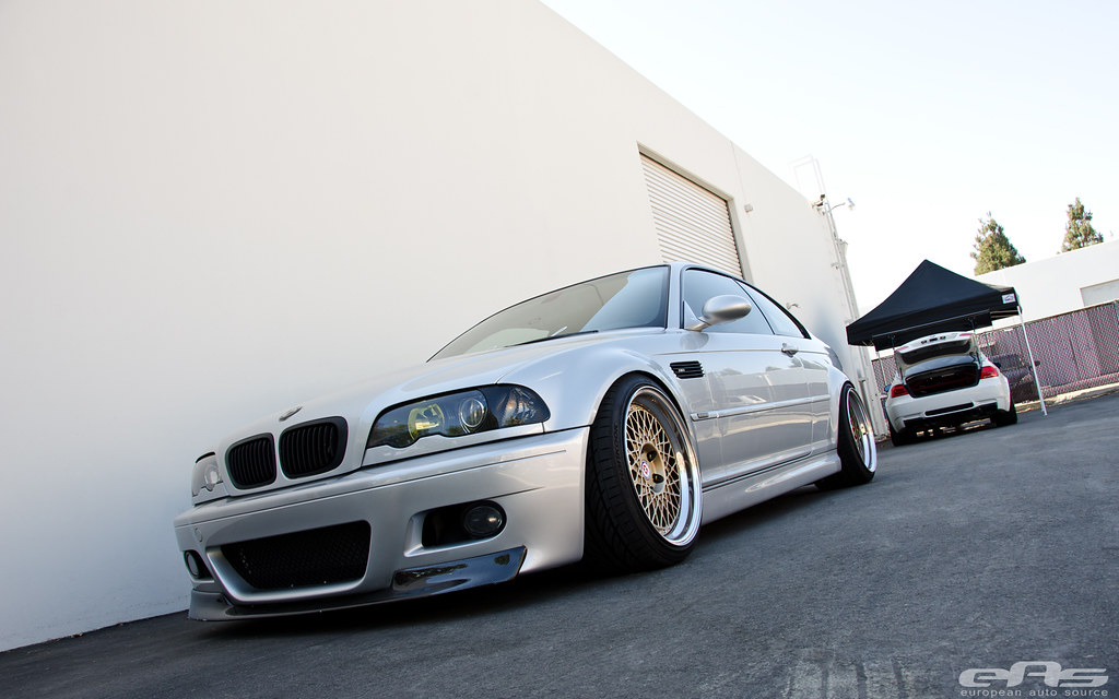 TiAg E46 M3 HRE 501 Wheels 09 European Auto Source Flickr