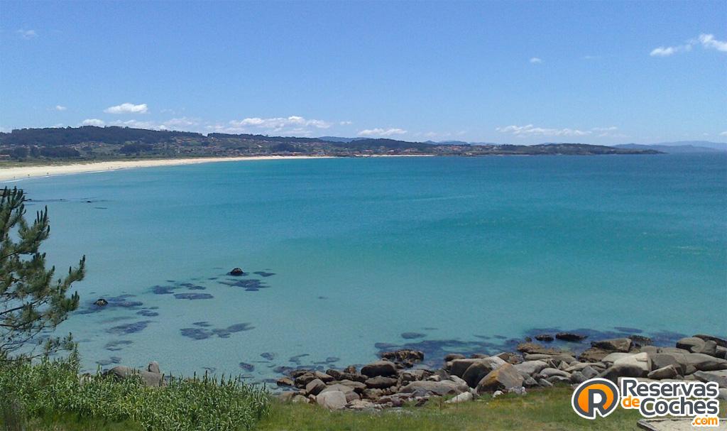 Playa de A Lanzada, O Grove, Galicia  Vistas de la Playa de…  Flickr
