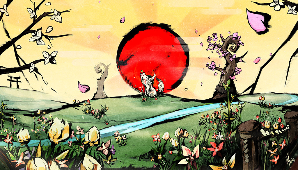 Image result for okami sun