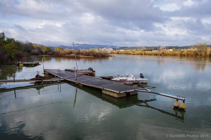 Tranquilidad en el Ebro tras la lluvia