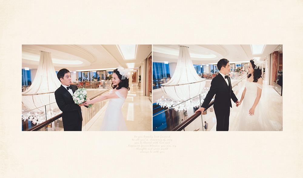 雙人雙機婚禮平面拍照紀錄