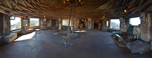 Grand Canyon National Park Watchtower Kiva Room - restored January 2015 #9390