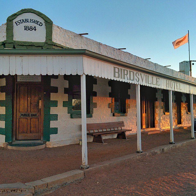 To imagine what Birdsville, QLD is like, think west Texas with Australian accents.