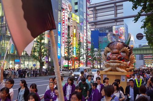 Kanda Matsuri 2015 Tsuke Maturi 30 大江山の鬼の首