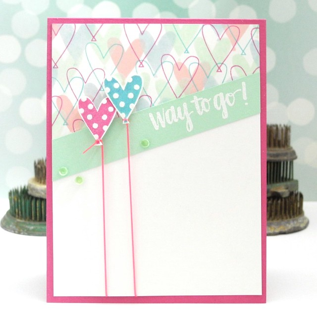 Way to Go! by @Jennifer Ingle for @Simon Says Stamp #simonsaysstamp #diy #cards #stamping #cardchallenges