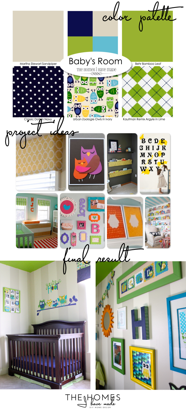 Inspiration vs Actual | Nursery