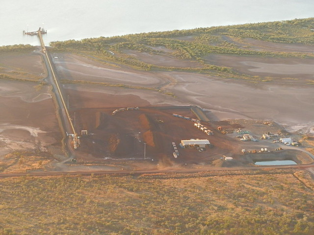 Iron Ore at Wyndham Port, Western Australia