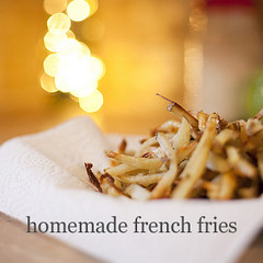 Homemade French Fry Recipe, baked in the oven