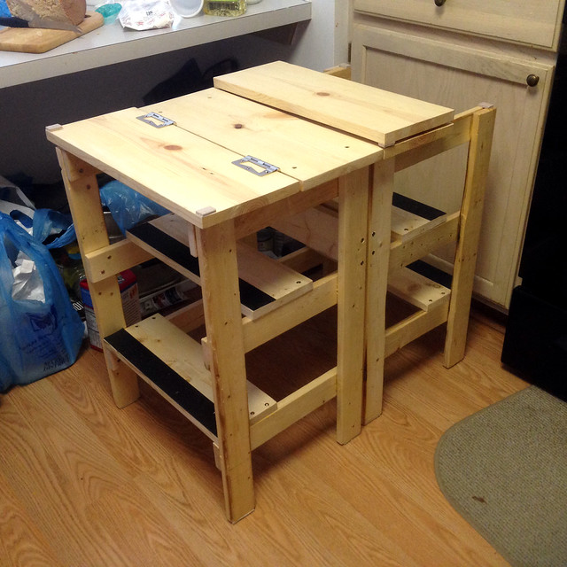 Ridiculously Simple Shop Stool