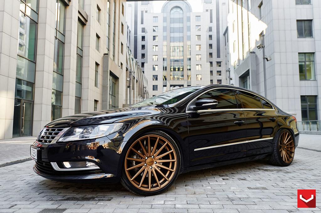 volkswagen cc vfs bronze  vossen wheels flickr