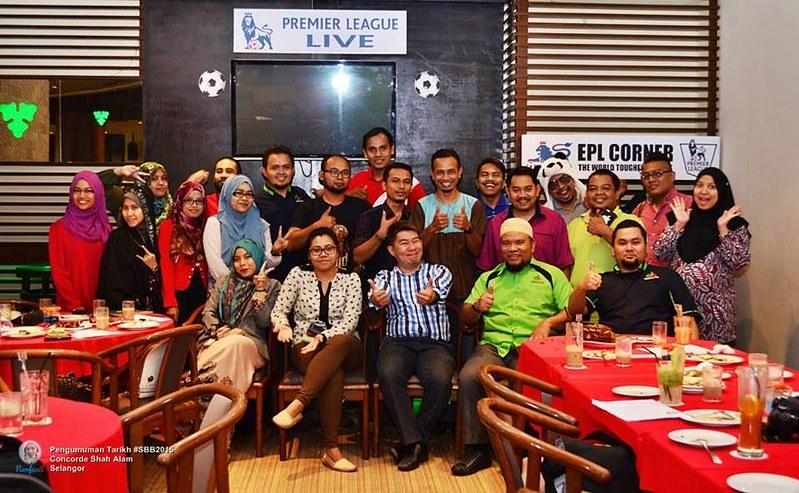 Majlis Pengumuman Tarikh Rasmi Sepetang Bersama Blogger 2015