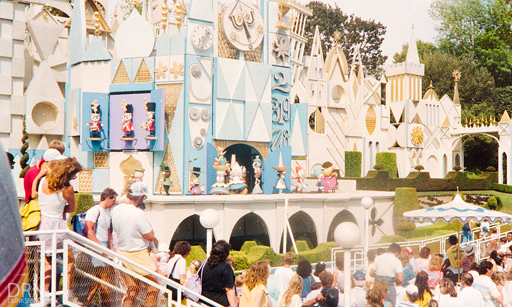 Disneyland in the 1980's.