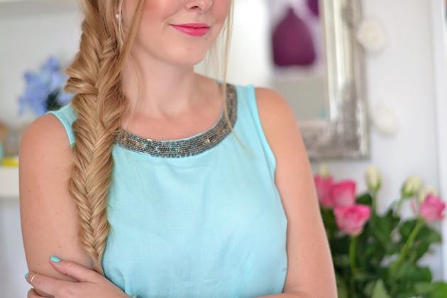 Eugli Frisuren Freitag Fischgrätenzopf Fashionblogger