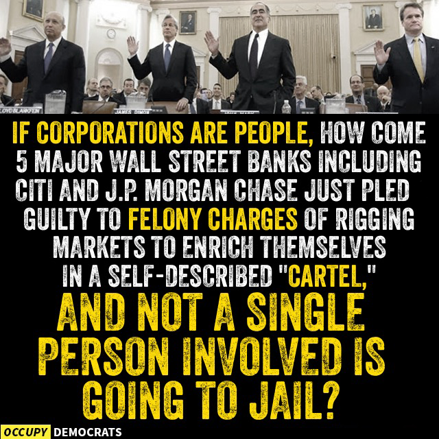 occupy democrats corporate cartel
