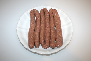 10 - Bratwürste / Ingredient sausages