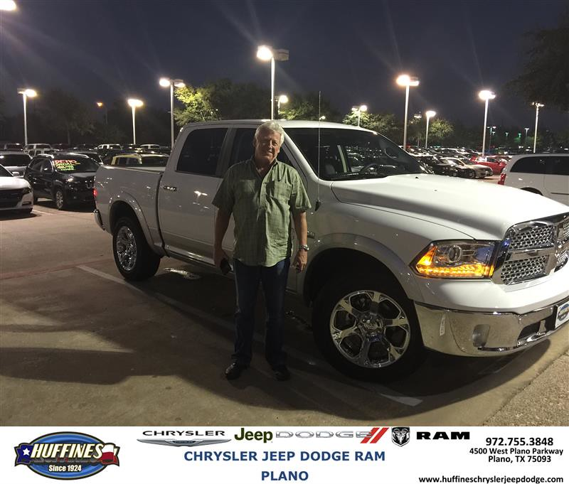 Plano Dodge: Happy Anniversary To Clarence On Your #Ram #1500 From Bill