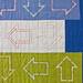 detail of school auction quilt 2012