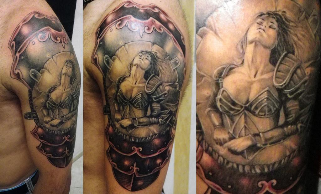 Donna guerriera vera cruz flickr for Tattoo donne guerriere