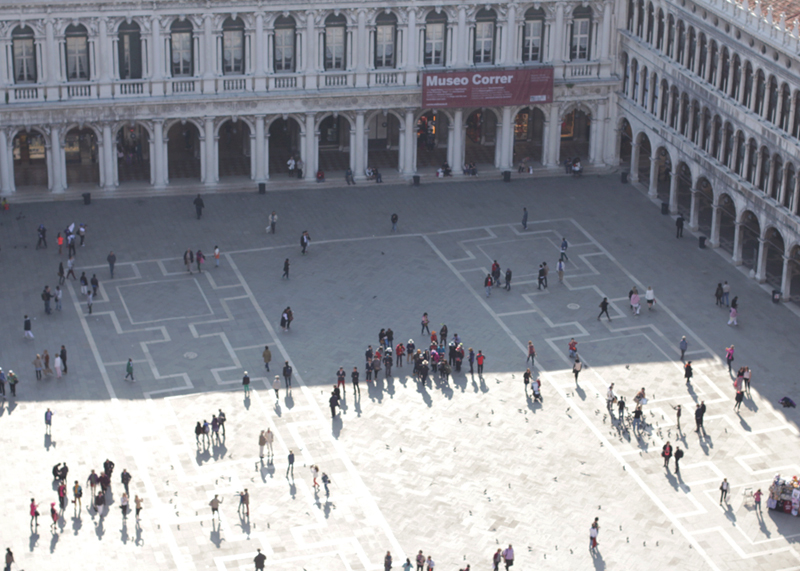 St Marks Square from above, Bumpkin Betty