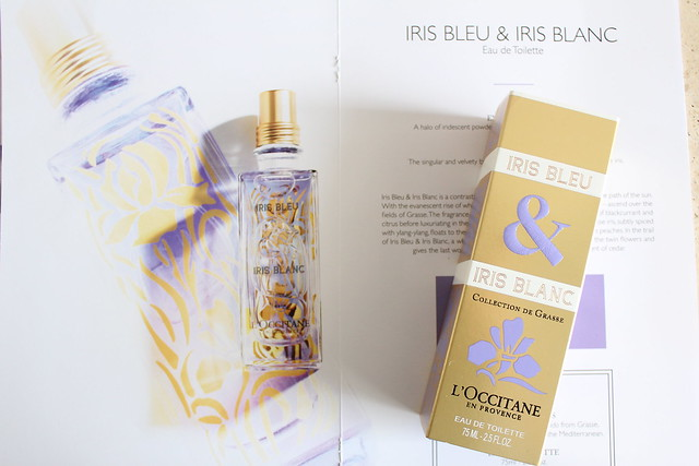 L'Occitane Iris Bleu and Iris Blanc review