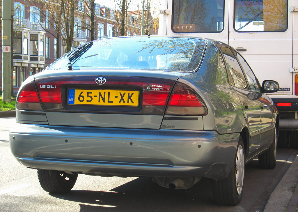 1993 toyota corolla liftback 1.6 gli automatic | place: zeeh… | flickr
