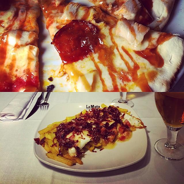 No me digas que no es apetecible pasar por este #restaurante y disfrutar de su #gastronomía #calidad y atención inmejorable #lamafia #zaragoza #nosvemosenlosrestaurantes by #simbiosc #simbiosctv