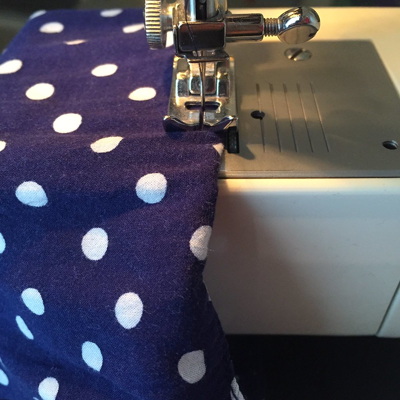 Polka Dot Pockets - In Progress
