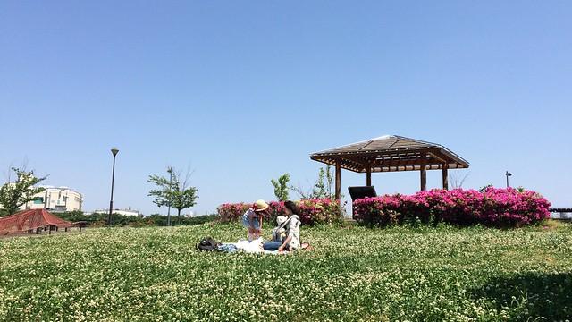 東立石緑地公園