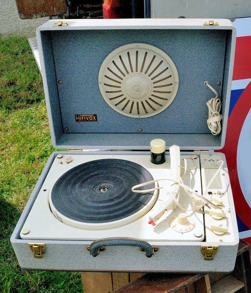 tourne disque hifivox france sixties fabriqu par m ba flickr. Black Bedroom Furniture Sets. Home Design Ideas
