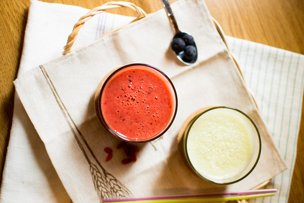 Two Fruit Smoothie Ideas