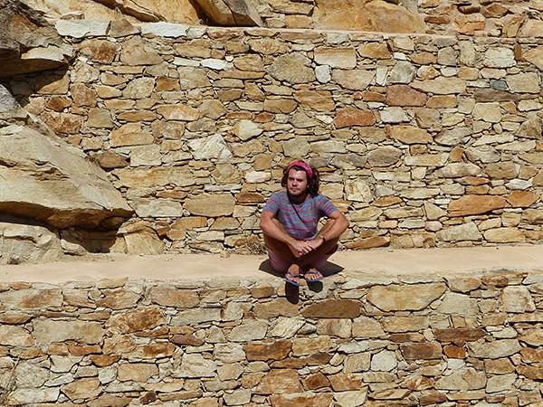 repos dans les pierres