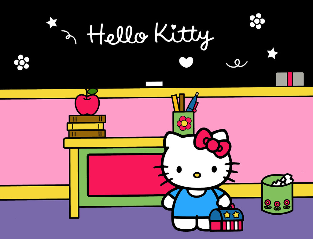 A Day In The Life Of Kitty White 11 Kitty In Her Classr