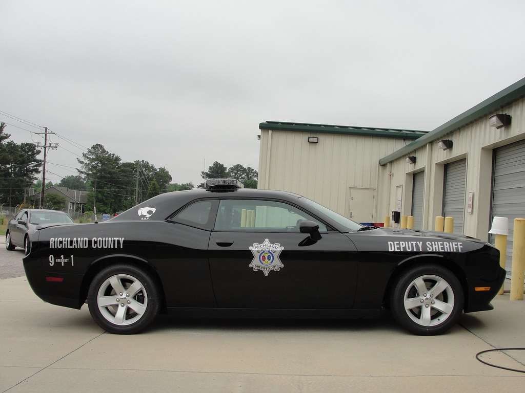 Richland Co Sheriff Sc Dodge Challenger This Vehicle