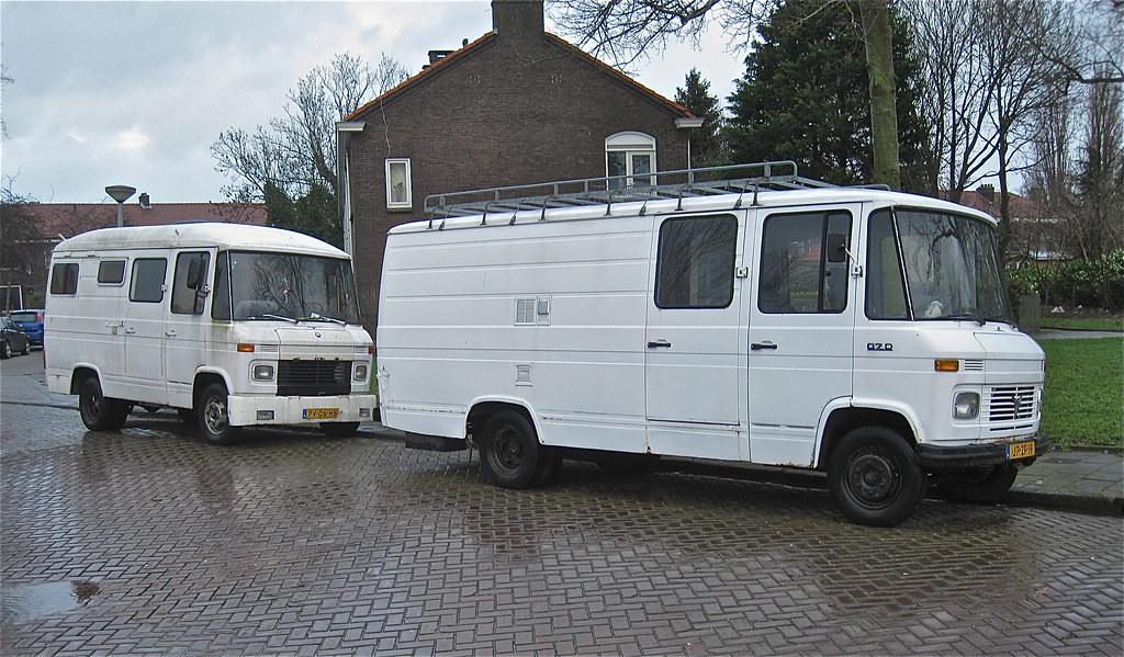 Campervan Duo 1 L R 1980 Mercedes Benz T2 L407d