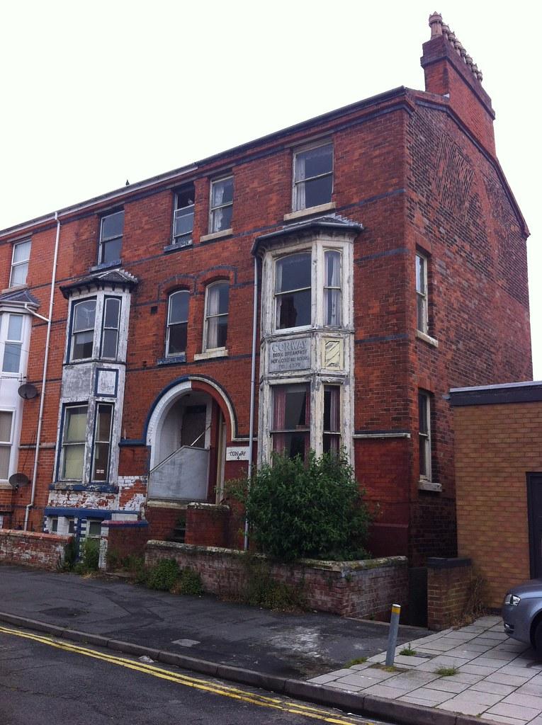 Derelict Conway Guest House Prince Alfred Avenue Skegnes