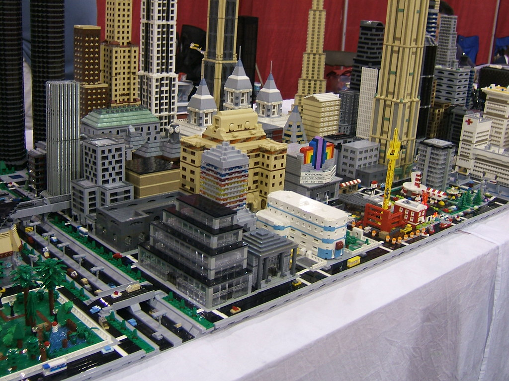 micro scale lego city   Flickr - Photo Sharing!