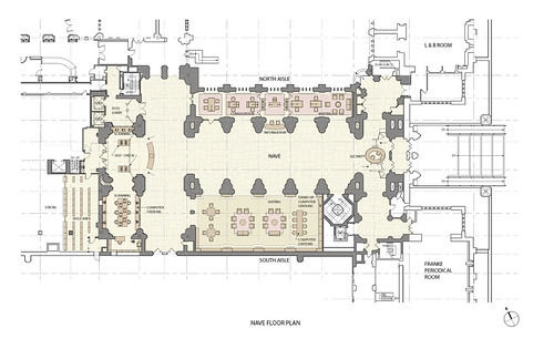Sterling memorial library nave floor plan this diagram for Sterling plan