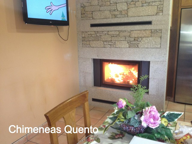 Chimenea quento modelo erreira con hogar hp 700 flickr - Chimeneas quento ...