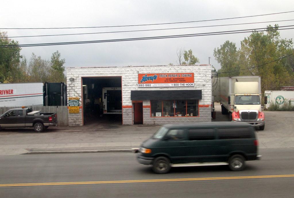 Larry 39 s truck repair and towing cheektowaga ny mark for K kitchen company cheektowaga ny