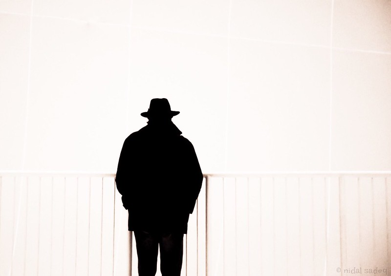 Mr.X #silhouettes #streetphotography #ruhrgebiet #mystery #fineart