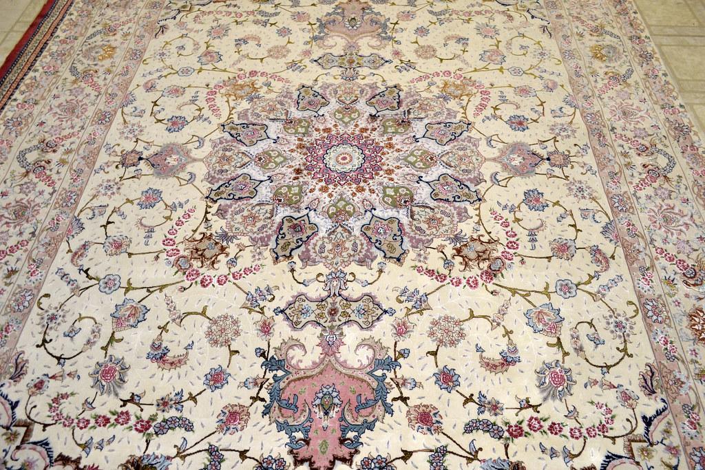 Shirfar Tabriz Persian Rug 7x10 - 70 raj (5)
