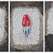 A Selection of Jim Bachor's Chicago Pothole Mosaics