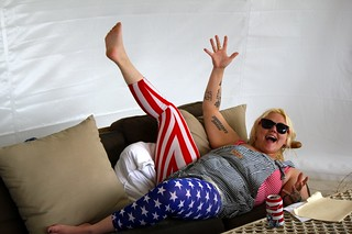 Elle King sofa